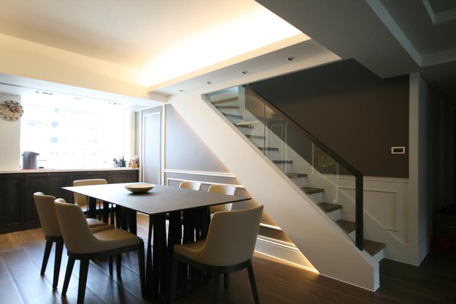 0800-modern french house-dinning-home idea-breeze design studio 柔室內設計裝修.JPG