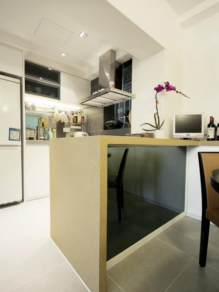 0510-elegant white-open kitchen-home idea-breeze design studio 柔室內設計裝修.JPG
