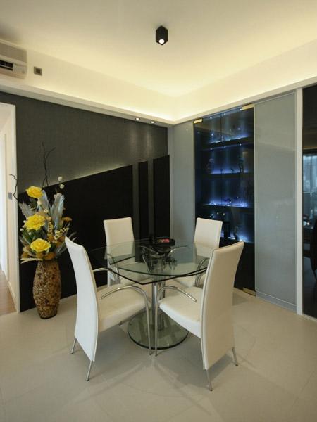 0410-feature wall display cabinet-dinning-home idea-breeze design studio 柔室內設計裝修