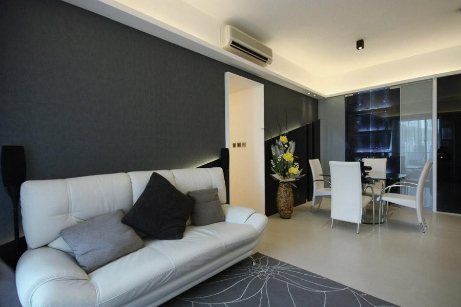 0380-mirror light feature wall-living-home idea-breeze design studio 柔室內設計裝修.JPG