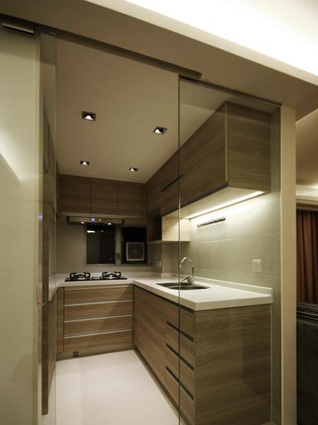 0960-wood country glass door-kitchen-home idea-breeze design studio 柔室內設計裝修.JPG