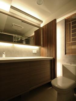 1530-white country-bathroom-home idea-breeze design studio 柔室內設計裝修.JPG