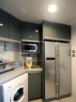 1490-grey modern-kitchen-home idea-breeze design studio 柔室內設計裝修.JPG