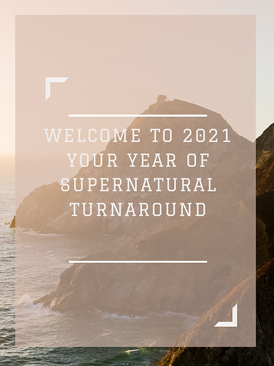 WELCOME TO 2021 YOUR YEAR OF SUPERNATURA