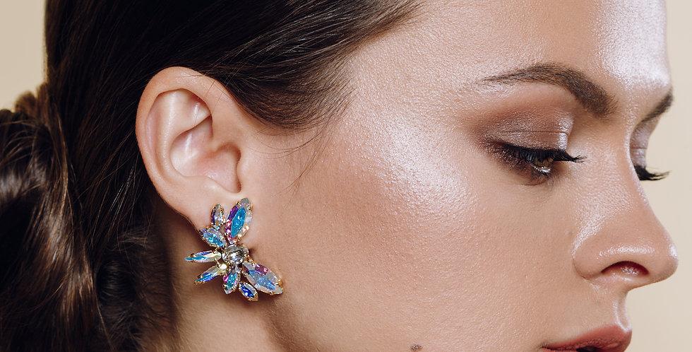 Petite Butterfly Clip Earrings