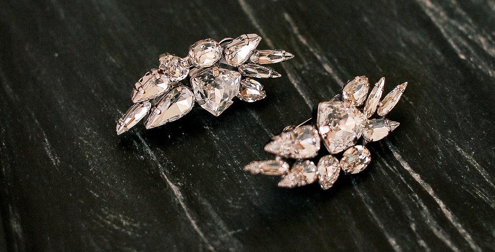 Crystal Arrowhead Clip