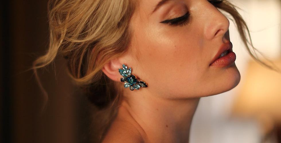 Daisy Clip Earrings