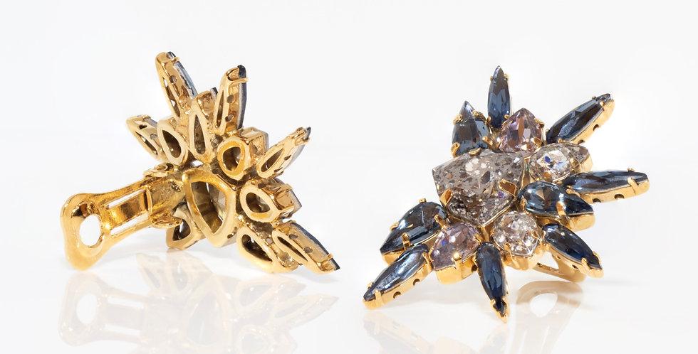 Star Clip Earrings