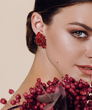 Opal Clip Earrings