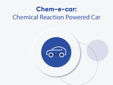 Chem-e-car: A Chemical Reaction Powered Car