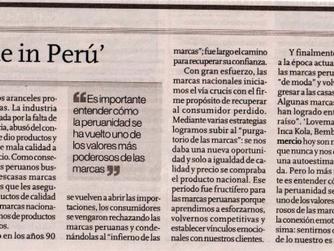 MARCAS 'MADE IN PERU'