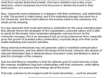 Facebook and more: Social networking in Peru
