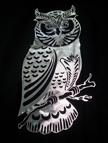 Decorative Steel Owl