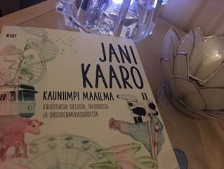 Jani Kaaro elähdyttää esseillään