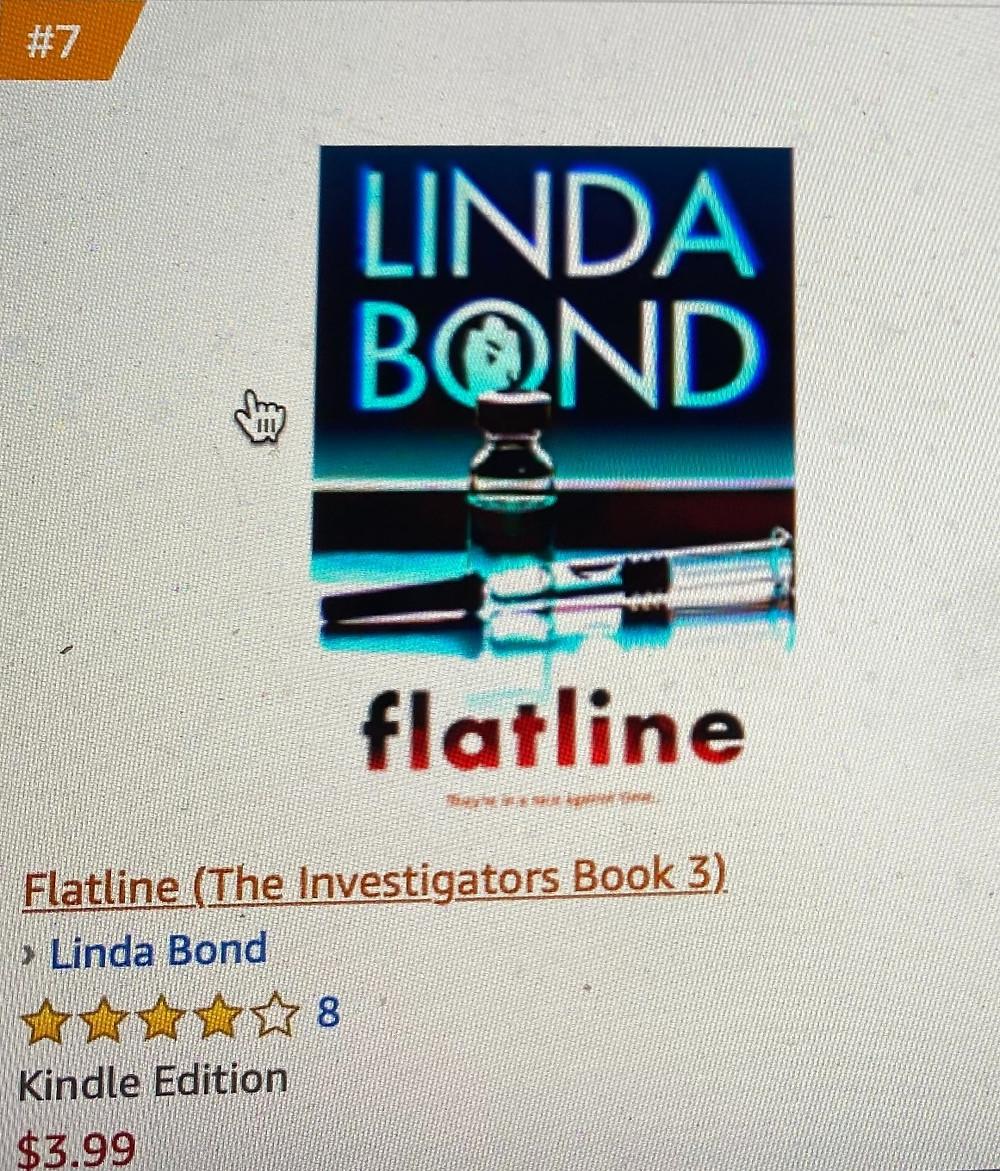 Flatline on the Amazon Best Sellers List