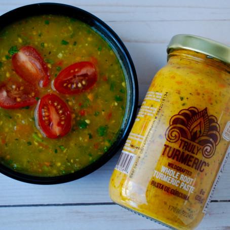 Yellow Tomato and Turmeric Salsa