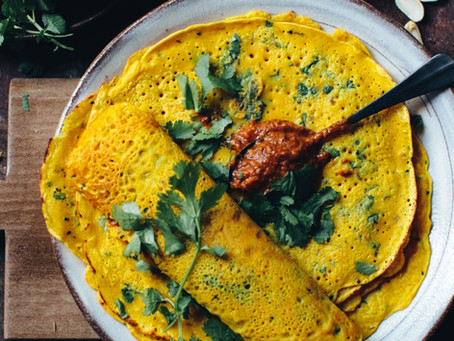 Truly Turmeric Crepes