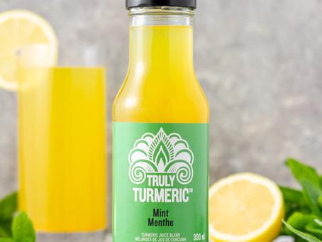 Bubbly Turmeric Mocktail