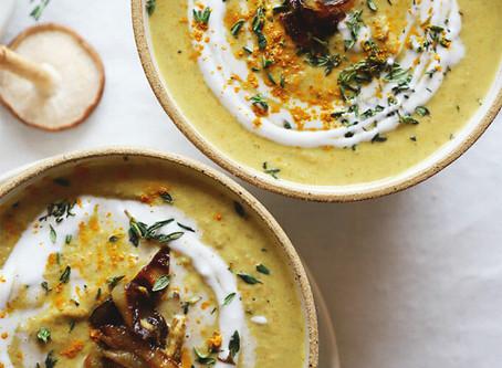 Golden Mushroom Soup