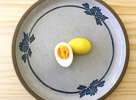 Delightful Turmeric Pickled Eggs!