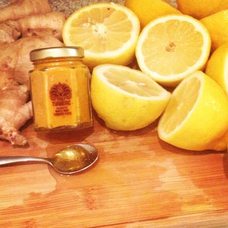 Truly Turmeric Lemonade