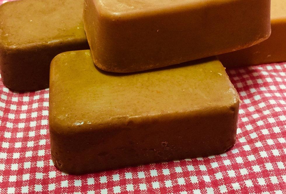 All-Natural Turmeric and Marigold Soap