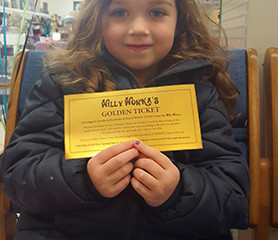 The First Golden Ticket Has Been Found!