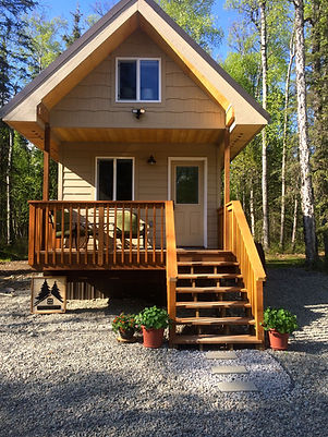 Tiny House Cabin in May