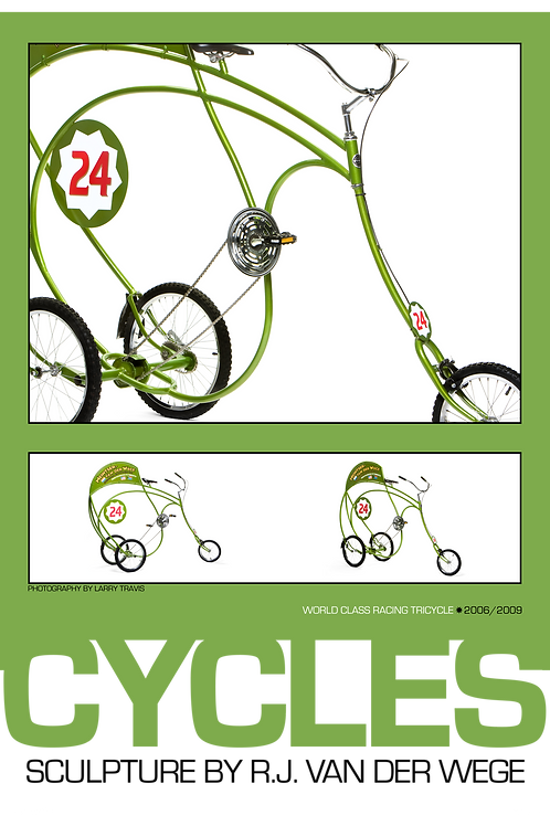 Green Cycles Poster