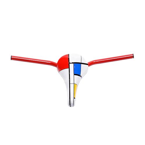 Der Stijl Rider III: Homage to Piet Mondrian, 2013