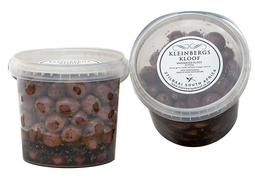6 x Marinated Pitted Olives 1l