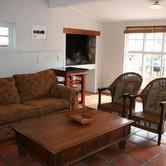 Indoor braai & tv room