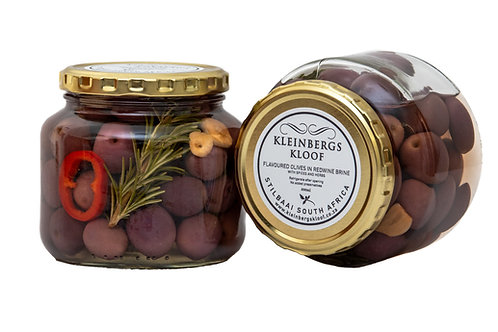 Olives in Red Wine Vinegar 500ml