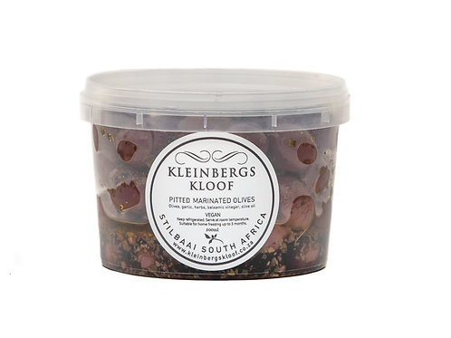 Marinated Pitted Olives 500ml