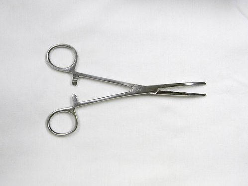"6"" Curved Tip Hemostat Clamp"