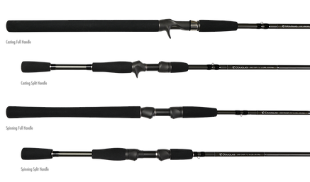 Douglas Outdoors XMATRIX Conventional Spinning Rods Starting At