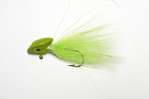 One Dozen Erie Head/Stand-Up Bucktail Jigs (choose size & color)