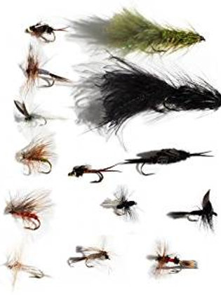 1 Dozen Fly Fishing Fly Assortment