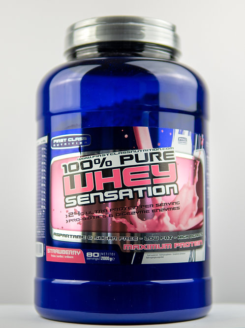 Whey Sensation - Strawberry