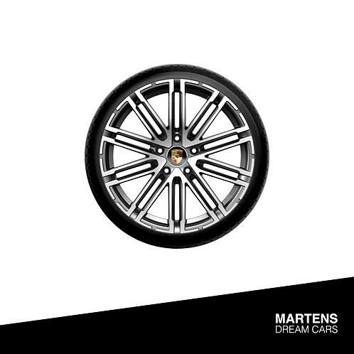 Rims Porsche Macan - Zilver/Antraciet