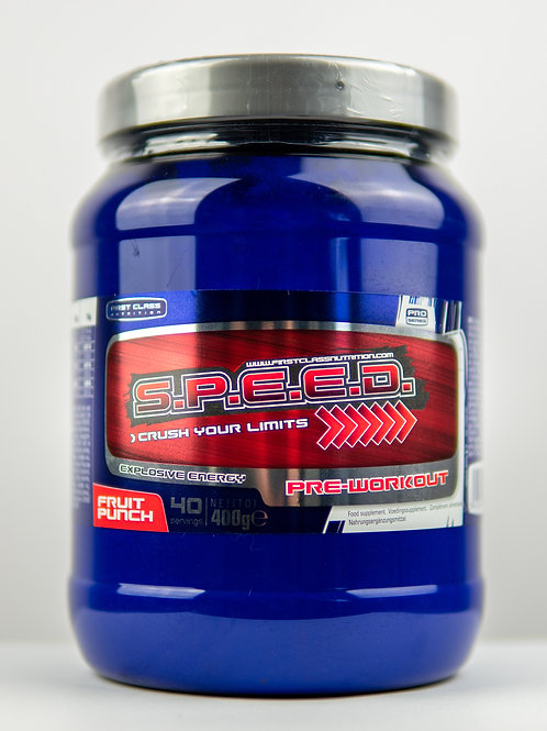 SPEED Fruit Punch - Pre Workout