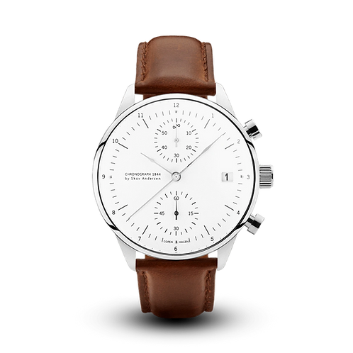 1844 CHRONOGRAPH STEEL / WHITE