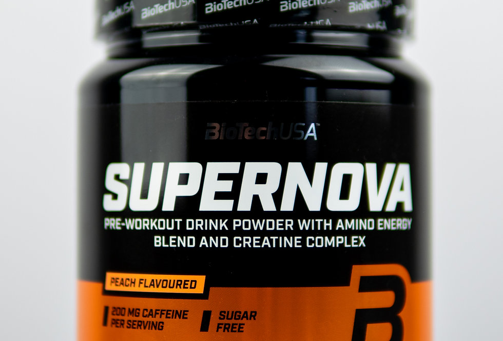 Supernova pre-workout - Peach