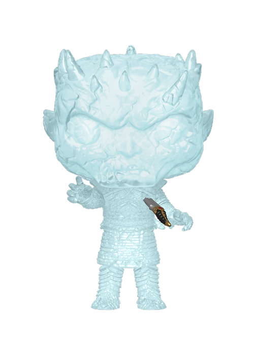 CRYSTAL NIGHT KING W/ DAGGER IN CHEST