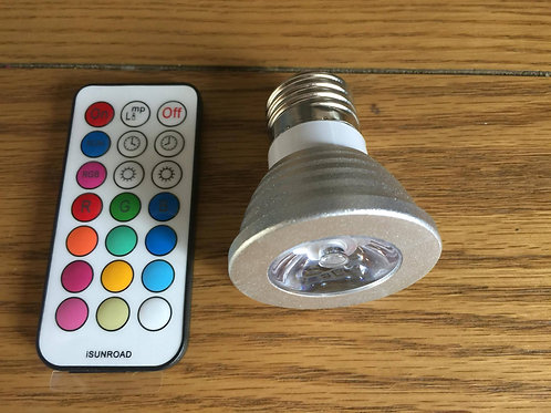 Colour Changing Light Bulbs with Remote