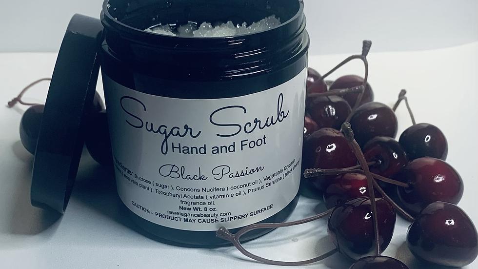 Black Passion Sugar Scrub