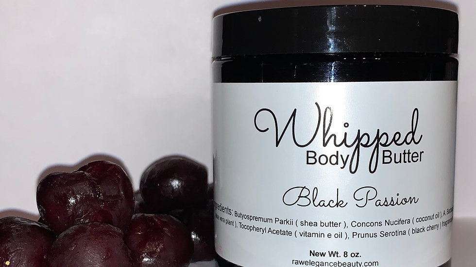 Black Passion Whipped Body Butter