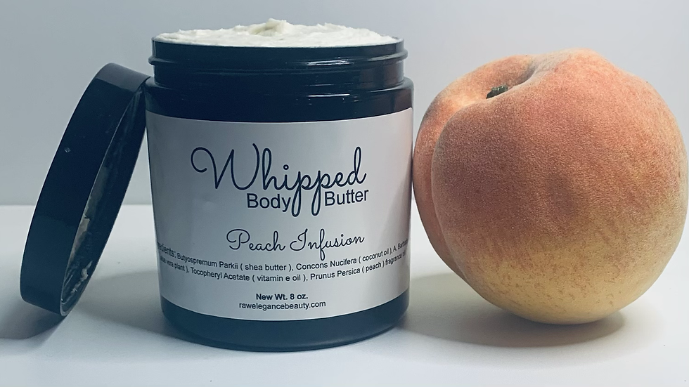 Peach Infusion Whipped Body Butter