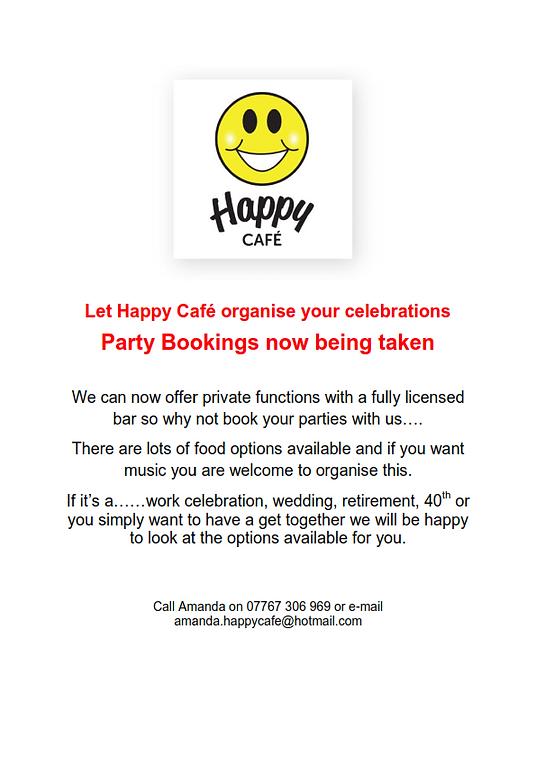 Party Venue Poster