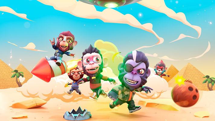 Smash Monkeys Developed by Sync Games